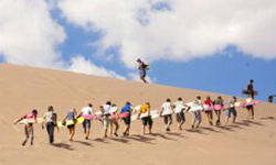السياحة الرياضية والتزحلق على الرمال بمحافظة الوادى الجديد