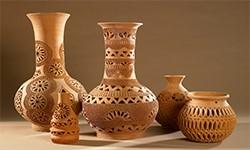 منتجات صناعة الخزف والفخار بمحافظة الوادى الجديد
