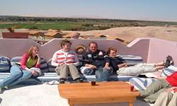 الاحصائيات الكلية لنزلاء الليالي السياحية بمحافظة الوادي الجديد